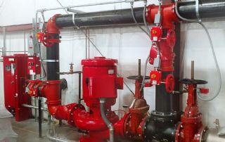 Okul Ve İsyerleri Yangın Söndürme Sistemleri Mekanik Tesisat Ustası