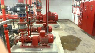 Yangın Tesisatı Basınç Test İşleri Mekanik Tesisat Ustası