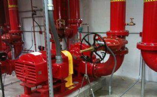 Yangın Tesisatı Su Kaçağı Onarımı Mekanik Tesisat Ustası