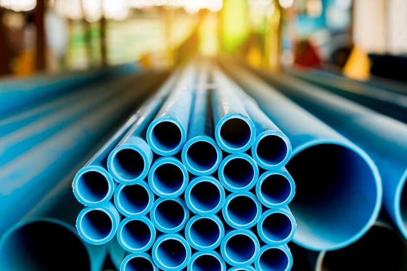 PVC su tesisatı boruları
